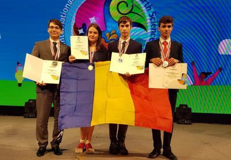 Elevi români premiați cu aur și  argint  la Olimpiada Internaţională de Ştiinţe ale Pământului