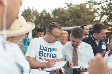 Paleologu a semnat pentru candidatura lui Dan Barna / Candidatul PMP: Barna semnează pentru mine?