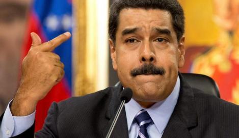 Nicolas Maduro a ordonat manevre militare la graniţa cu Columbia