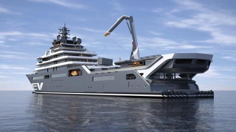 Cel mai grandios proiect din 2020.Cel mai mare yacht din lume va fii lansat la apă în Tulcea