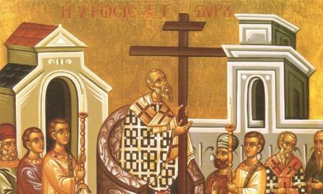 Cruce rosie in calendar. Cand pica Inaltarea Sfintei Cruci si ce traditii trebuie sa respecti