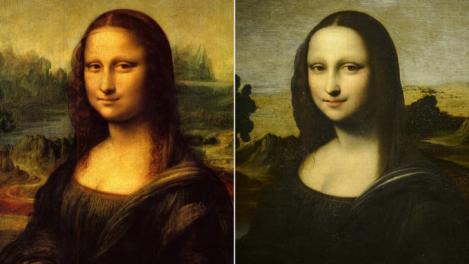 """Este posibil ca Leonardo da Vinci să fi pictat o altă """"Mona Lisa"""".  """"Mona Lisa anterioară"""" este o variantă neterminată a marelui pictor"""