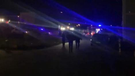 Baie de sânge la o petrecere de Revelion din Baia Mare! Zece echipaje de poliție au fost chemate de urgență
