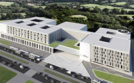 MS a lansat procedura de achiziţie a serviciilor de proiectare pentru construcţia Spitalului Regional Cluj