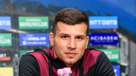 Ţucudean a revenit la antrenamentele echipei CFR Cluj: Îmi doresc în 2020 să fiu sănătos