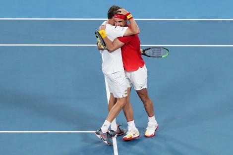 Serbia – Rusia şi Australia – Spania, semifinalele ATP Cup
