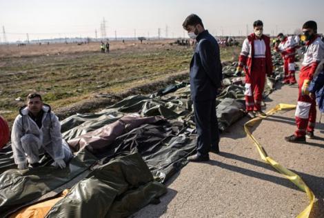 """Misterul prăbușirii avionului ce abia decolase din Teheran a fost elucidat. Iranieii au recunoscut: """"O criză provocată de aventurismul Statelor Unite"""""""