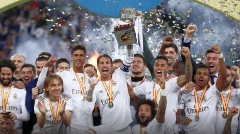 Stirile diminetii din sport: Real a luat SuperCupa Spaniei!