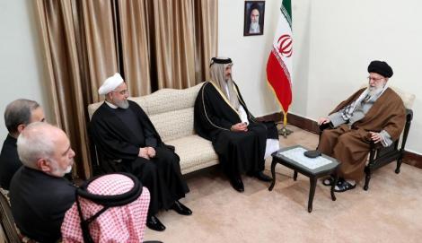 Khamenei îndeamnă la o consolidare a relaţiilor între ţările de la Golful Persic