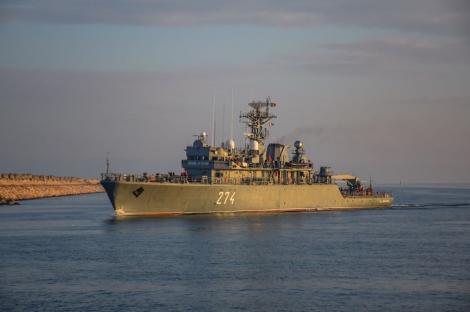O navă militară românească va prelua pentru şase luni comanda unei grupări NATO