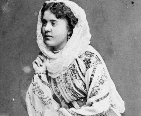 Celălalt mare talent...Eminescu: Aglaia, sora sa. Frumoasă, l-a impresionat pe Porumbescu, l-a atras pe Maiorescu!