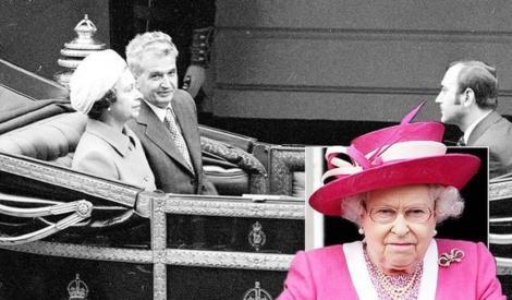 Când Nicolae Ceaușescu a venit în vizită, regina Angliei s-a ascuns în grădină, cu câinii! Care a fost motivul