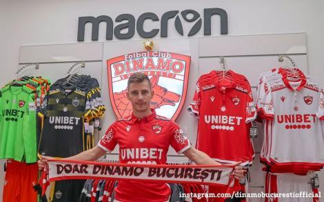 Valentin Lazăr a revenit la Dinamo