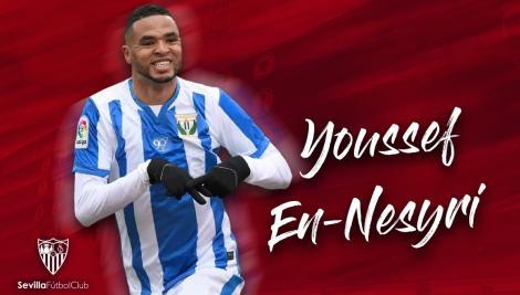 FC Sevilla l-a transferat pe En-Nesyri de la Leganes cu 20 de milioane de euro