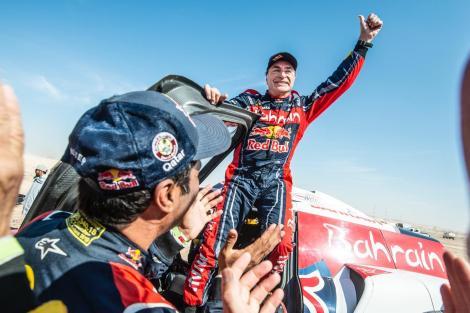 Carlos Sainz a câştigat pentru a treia oară Raliul Dakar