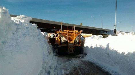 Iarnă de coșmar pentru o sută de milioane de persoane! Furtunile de zăpadă se extind