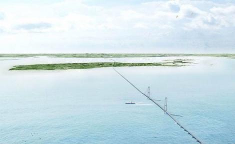 Danemarca vrea să construiscă un pod maritim între Aarhus şi Copenhaga, de 20 de miliarde de dolari