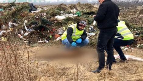 Resturile de cadavre umane găsite pe câmp au fost deshumate din greșeală în cimitir, măturate și duse la gunoi