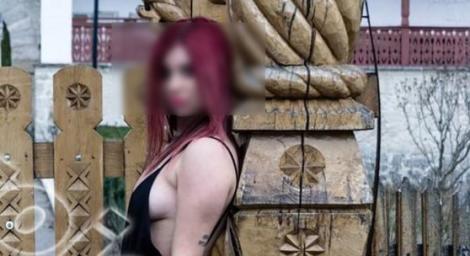"""Reacţia bisericii, după ce o elevă a pozat indecent, cu o armă în mâini, la Mănăstirea Ciolanu! Ce i se va întâmpla adolescentei. """"Fapta e blasfemitoare!"""" - FOTO"""