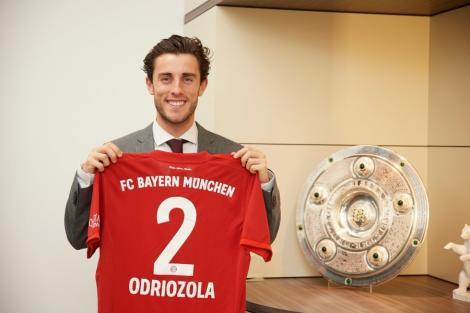 Alvaro Odriozola a fost împrumutat de Real Madrid la Bayern Munchen