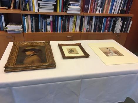 Trei tablouri furate de nazişti, restituite moştenitorilor francezi