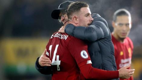 Liverpool la al 40-lea meci consecutiv fără înfrângere în Premier League: scor 2-1 cu Wolverhampton