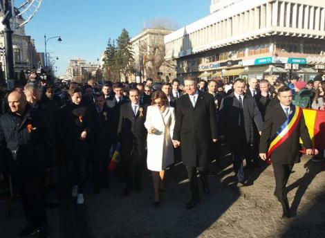 Iohannis, către un bărbat care i-a cerut să oprească corupţia: Facem ordine!