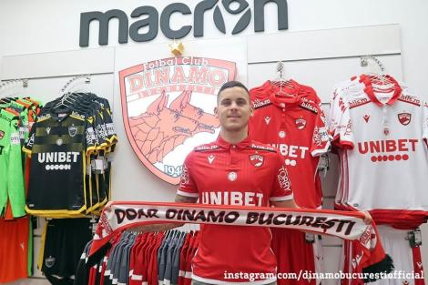 Fundaşul Kristian Kostrna, la FC Dinamo Bucureşti