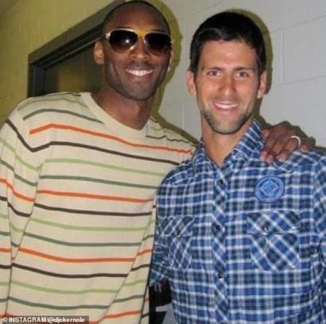 Novak Djokovici, în lacrimi despre Kobe Bryant: A fost mentorul şi prietenul meu