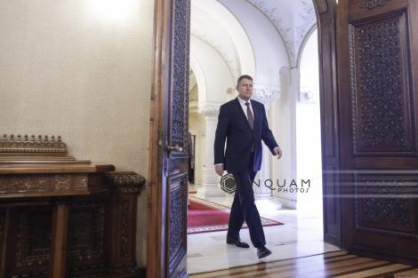 Preşedintele Klaus Iohannis se întâlneşte cu conducerea CSM, după eliminarea pensiilor speciale