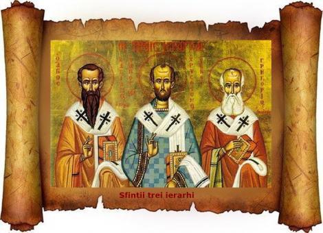 """Sfinții Trei Ierarhi. Cui spunem """"La mulți ani"""" pe 30 ianuarie"""