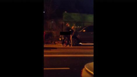 Un taximetrist cu pantalonii în vine, violență extremă pe stradă, în București! A snopit în bătaie un bărbat! Atenție, imagini tulburătoare! VIDEO