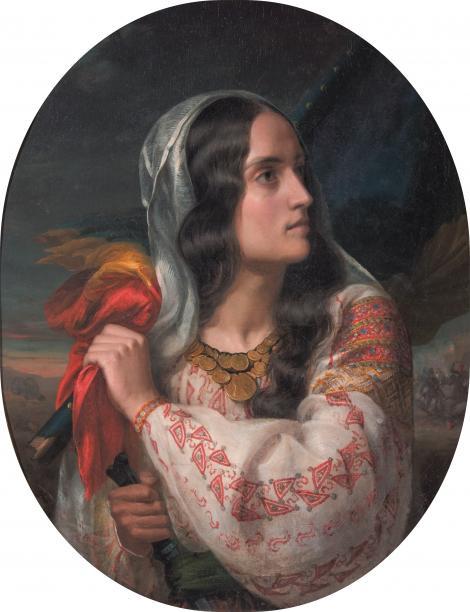 """""""Când îl sărută, îi băgă în gură biletul de eliberare!"""" Cum a salvat Maria Rosetti revoluționarii de la 1848!"""