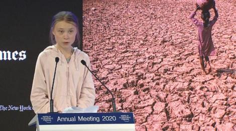Greta Thunberg a făcut cerere pentru înregistrarea mărcii numelui său şi a mişcării Fridays For Future