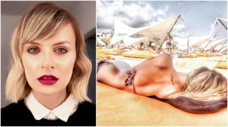 """Ioana Blaj din """"Sacrificiul"""" este o mămică sexi! Ce a pățit în vacanța de iarnă. """"Tare ciudat m-am simțit!"""" – Galerie foto"""
