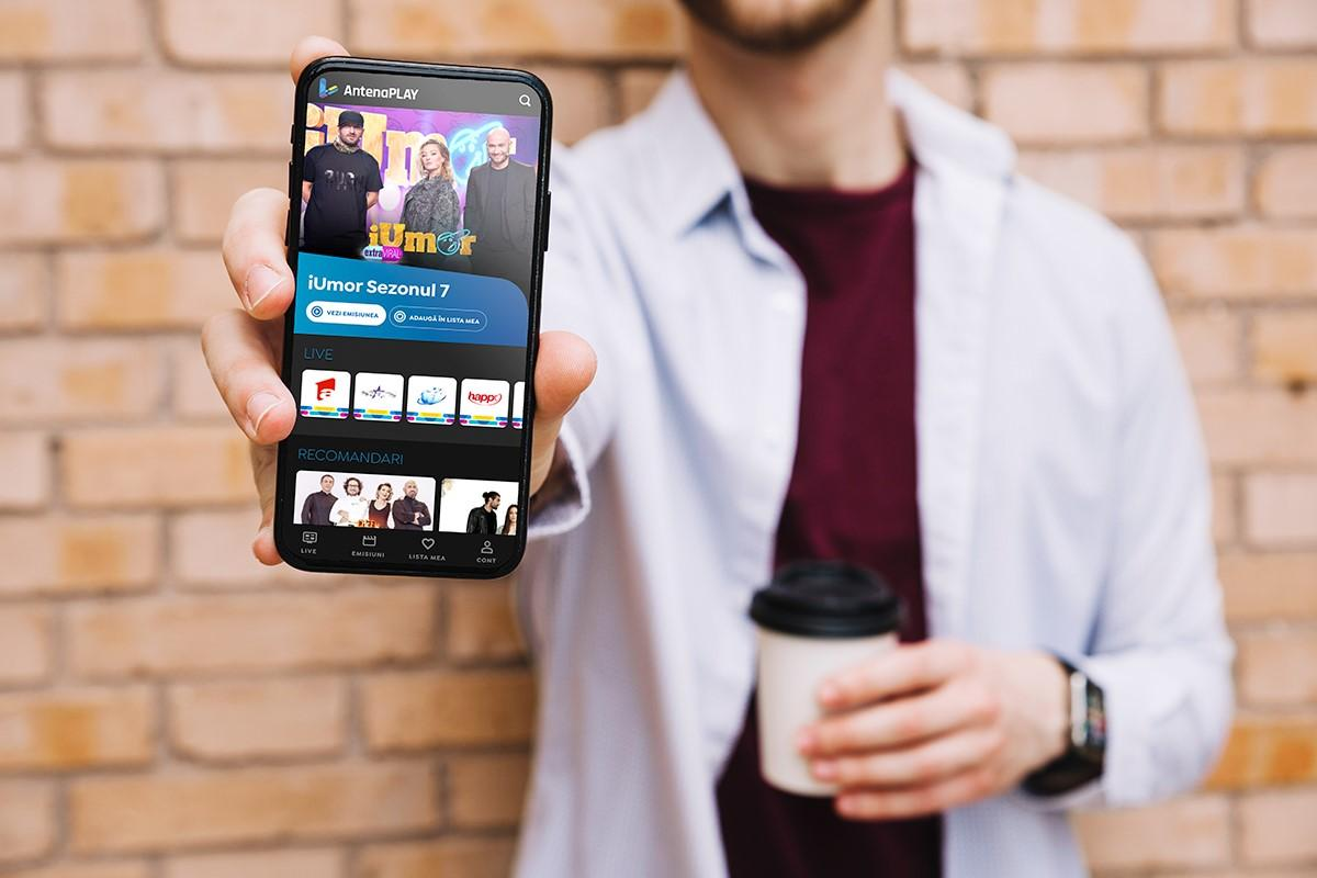 AntenaPlay, 5.2 milioane de ore de vizionare pe fluxurile de live în 2019