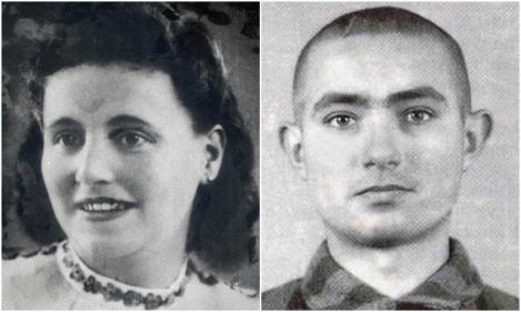 Își taie venele în fața călăilor! Cu o mână din care îi țâșnește sângele îl pocnește pe unul peste față! Ea și iubitul ei și-au fluierat dragostea și au fost cât pe ce să scape! Iubire și curaj la Auschwitz - FOTO