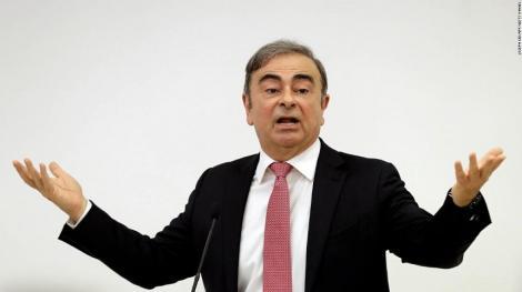 Carlos Ghosn afirmă în prima sa conferinţă de presă susţinută după fuga din Japonia că a fost tratat cu brutalitate de procurorii japonezi