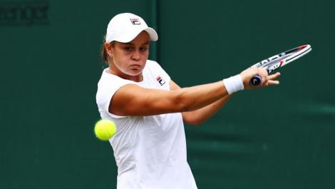 Ashleigh Barty, liderul WTA, a fost învinsă în primul său meci din 2020