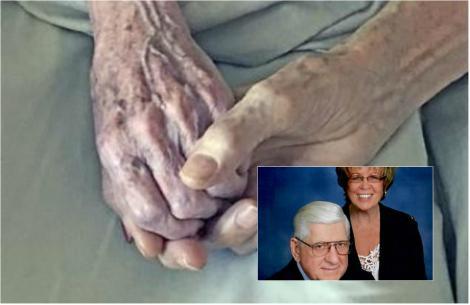 """Au murit unul lângă altul, ținându-se de mână și au dat cea mai frumoasă lecție de iubire: """"Au făcut un pact"""""""