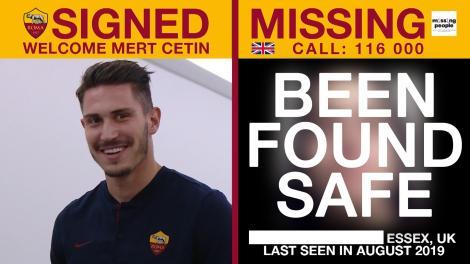 Şase minori care erau daţi dispăruţi au fost găsiţi după ce cazurile lor au apărut într-o campanie a AS Roma