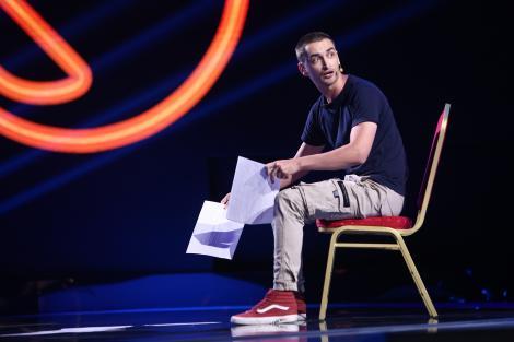 """Momentul făcut de Mădălin Ghioc pe scena iUmor i-a impresionat pe jurați. Mihai Bendeac: """"Ești foarte, foarte mișto!"""""""