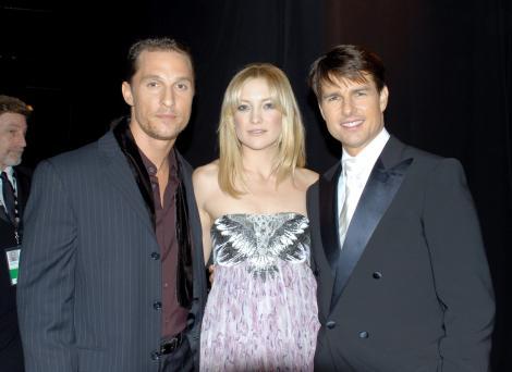 Matthew McConaughey, Kate Hudson și Tom Cruise