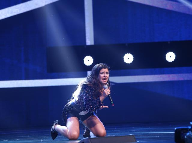 """Anna Turrei, moment electrizant pe scena X Factor. Cum a sunat hitul """"Black Widow"""" în interpretarea ei"""