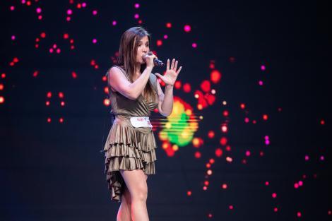 Tania Morales a cântat o compoziție proprie la X Factor. Cum sună piesa și ce au spus jurații despre prestația ei