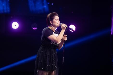 "Ana Maria Ioana a impresionat cu sensibilitatea ei la X Factor. Cum sună ""I'll Take Care Of You"" în versiunea sa"