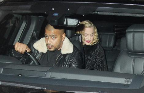 Madonna, imagini din Londra