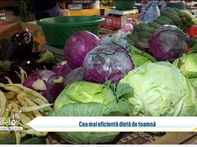 Dieta de toamnă cu legume de sezon și beneficiile ei asupra organismului