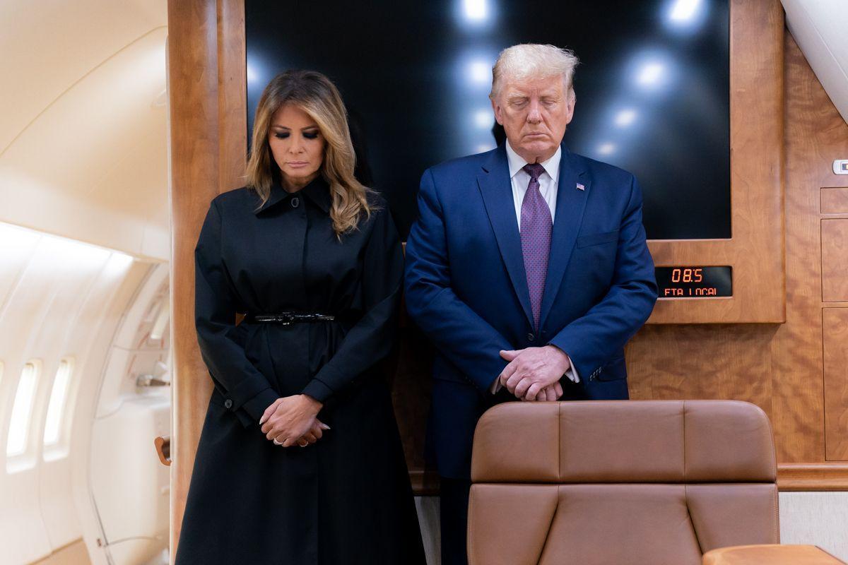 Donald Trump si Melania au fost testați pozitiv pentru coronavirus. Ce se întâmplă la Casa AlbĂ