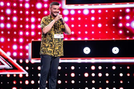 """Vasi Bistrae a venit pentru a patra oară la """"X Factor""""! Ștefan Bănică: """"Hai, mă Vasi, cântă din suflet, rupe scena"""""""